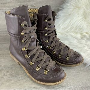 American Rag Kelsey Combat Laced Boots Size 8